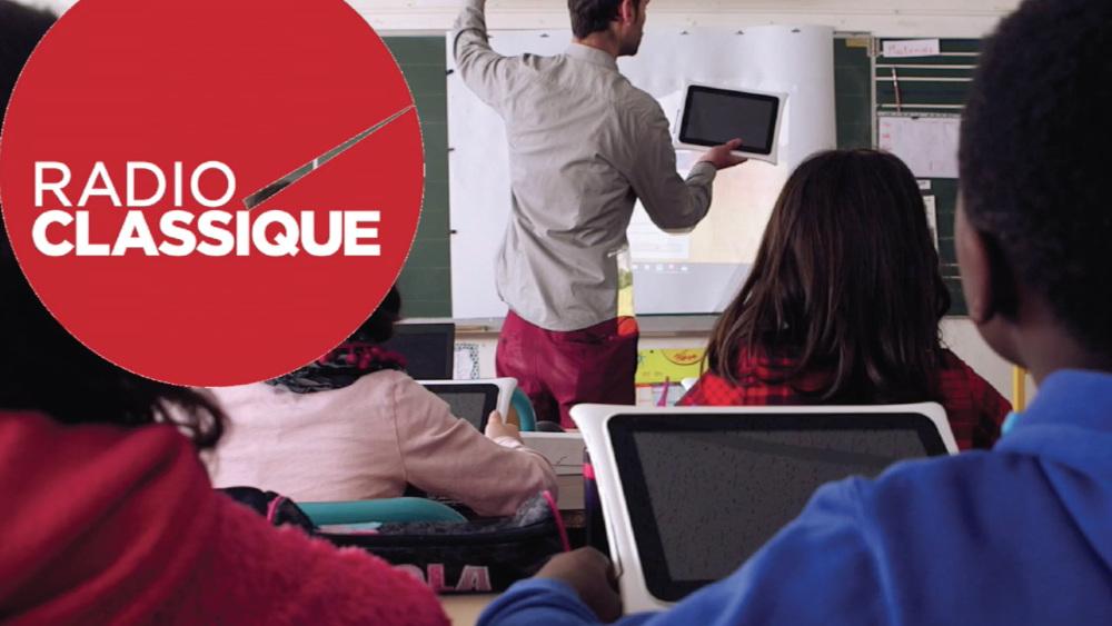 Radio Classique : SQOOL dans les écoles de la ville de Chelles
