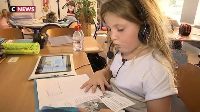 Des tablettes numériques à l'école